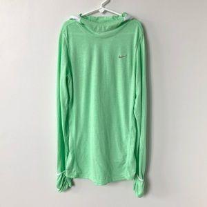 NIKE Dri-fit Long Sleeve Shirt with Hood
